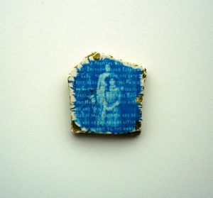 Palimpsest on Tile - Sian Hughes