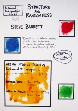 Structure and Randomness by Steve Barrett Opens Thursday 21stAugust