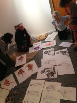 Arena members life drawing in March