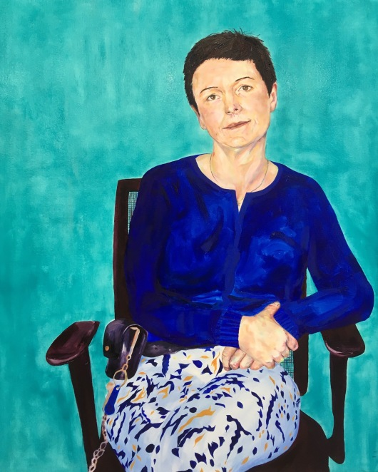 Emily Thomas, The Last Govnor Of Holloway_80x100cm_Oil On Canvas